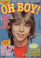 Oh Boy! Magazine 1 July 1978 No.84  Tim Atack Child Jamie Crompton of New Hearts