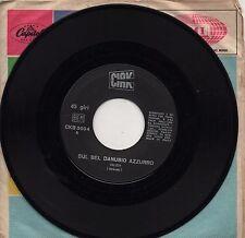 SUL BEL DANUBIO AZZURRO di STRAUSS + Pattinatori disco 45 STAMPA ITALIANA Valzer