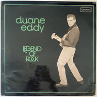 DUANE EDDY LEGEND OF ROCK 2-LP LONDON UK 1975 PRO CLEANED VG CONDITION