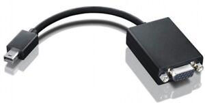 BRAND NEW Lenovo miniDisplayPort  VGA adapter P/N:0A36536