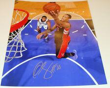 Toronto Raptors demar derozan firmado Nba Baloncesto 11x14 Autógrafo Certificado De Autenticidad De Imagen