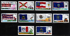 #4283 - 4292 Flags of our Nation Set #2 - Used