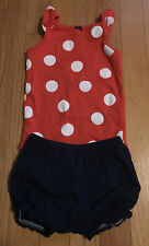Carter's Baby Girls Bodysuit And Bubble Shorts, Watermelon, 12M