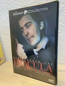 Dracula Prince Of Darkness DVD Anchor Bay Horror Blut für Dracula Uncut OOP