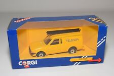 ^ CORGI TOYS 496 FORD ESCORT 55 VAN BRITISH TELECOM MINT BOXED.