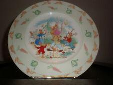 Royal Doulton BUNNYKINS (ALBION SHAPE) In The Garden Wall Plate 6670280