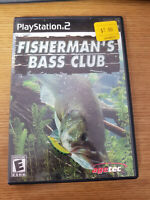 Playstation 2 Fishermans Bass Club Complete