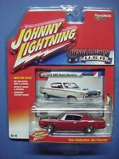 JOHNNY LIGHNING MUSCLE CARS U.S.A. #1B 1970 AMC REBEL MACHINE (RED)