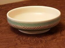 More details for rare 1960's mid century modern freeform poole pottery bowl / dish 344 x / pkt