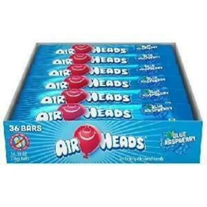 AIRHEADS - BLUEBERRY (15G X 36 BARS IN A DISPLAY)