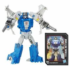 TRANSFORMERS GENERATIONS TITANS RETURN DELUXE HIGHBROW AND TITAN MASTER XORT