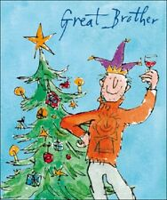 Great Brother Quentin Blake Christmas Card Individual Xmas Cards