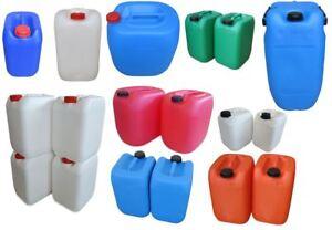 gebrauchte Kunststoffkanister Kanister 10 L, 20 L, 25 L, 30 L, 60 L Behälter