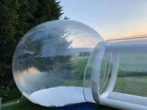 bubble tent large good quality used once  located in Norway
