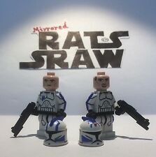 Lego Star Wars minifigures - Clone Custom Troopers - Echo and Fives 501st