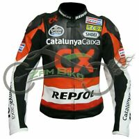 Repsol Racing Biker Motorbike Leather Jacket Motorcycle Leather Jackets CE