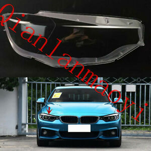 Right Side Lucency Headlight Cover+Glue For BMW F32 F33 F36 F82 4-Series 2014-20