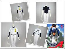 Ace of Diamond Dia no Ace Eijun Sawamura cosplay costume