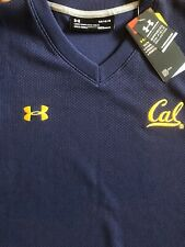 NWT Men's Under Armour Cal Bears Navy Blue Large Vest