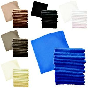 Pack of 3 6 12 Egyptian Luxury 100% Super Soft Cotton Towel 550 GSM Face Clothes
