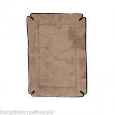 "KH Mfg 37"" Memory Foam Dog Pet Crate Kennel Bed Mat Pad Mocha"