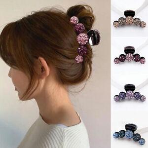 Crystal Rhinestone Hair Claw Hairpin Ladies Women Hair Clips Hair Accessories UK