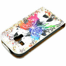 Card Holder Leather Skin Full Case Cover For Samsung Galaxy S3 III Mini i8190
