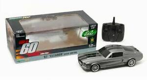 FORD MUSTANG Shelby GT500 Eleanor RC 60 Secondes Chrono Télécommandé Radio 1/18