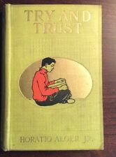 Try And Trust (Undated, Hardcover) Horatio Alger Jr PreOwnedBook.com