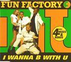 Maxi CD - Fun Factory - I Wanna B With U - #A2081