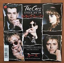 """The Cars – Strap Me In / Door To Door Japan 7"""" Vinyl P-2352"""