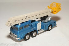 SHINSEI MINI POWER 911NC MOBILE CRANE TRUCK BLUE NEAR MINT CONDITION