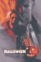 "HALLOWEEN Art Print by Barret Chapman Print 24"" x 36"" Mondo #/300"