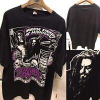 Rob Zombie T Shirt XXL Vintage Rock Metal Horror White Zombie