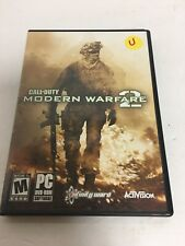 Call of Duty Modern Warfare 2 PC DVD-ROM PRE-OWNED VIDEO GAME