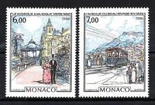 Monaco 1986 Yvert n°1543 et 1544 neuf ** 1er choix