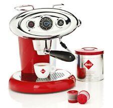 Illy Macchina Caffè X7.1  NERA - Rossa Iperespresso Capsule x7.1+ 8 CAPSULE ILLY