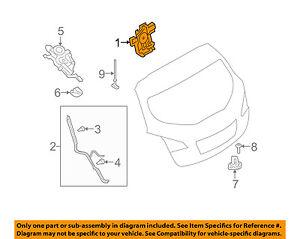 NISSAN OEM Liftgate-Lock Actuator Motor 905001CA1B