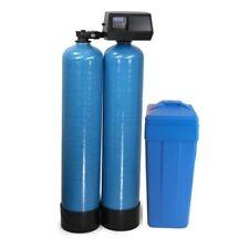Fleck 9100 SXT Twin Tank Metered On-Demand 40K Water Softener 24/7 Soft Water