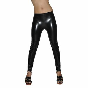 Brand New Latex Rubber Gummi Leggings Long Trousers Pants (one size)