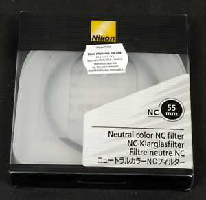 Nikon 55mm Neutral Color NC Filter - Brand New in Box