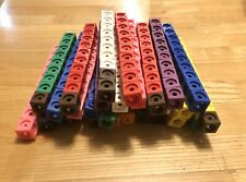 289 Learning Resources MathLink Cubes, used, Homeschool Math