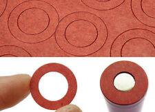 20x 18650 Insulator Rings LI ION Cell Battery Red Northampton