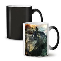 Wild Animal Horse Face NEW Colour Changing Tea Coffee Mug 11 oz   Wellcoda