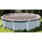 Silver Above Ground Super Deluxe Winter Pool Cover 16 ft. Round For 12 ft. Pool