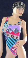 sexy Lycra Glanz Stringbody, String Body, Bodywear, Sportware aus den USA, Gr. M