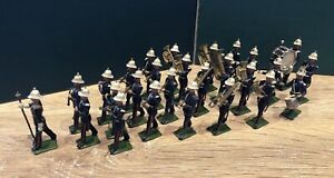 Britains: Set 1288 - Full Band Of The Royal Marines. Second Version, c1938
