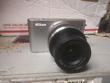 Nikon 1 J1 10.1 MP Digital Camera - White - Body and Lens