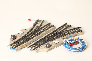 Märklin H0 Metal Track M Electric Pair of Switches 5117 (189814)