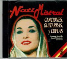 Nati Mistral Canciones Guitarras y Coplas    BRAND  NEW SEALED  CD